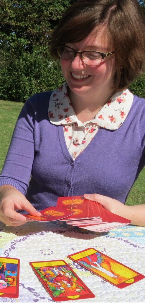 Reading with Nora Huszka's Gypsy Palace Tarot